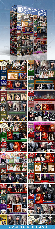 Photography FB Timeline Cover Bundle - Facebook Timeline Covers Social Media