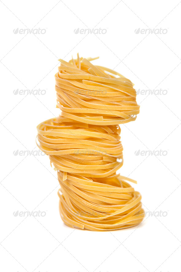 "Pasta products ""nests"" - Stock Photo - Images"