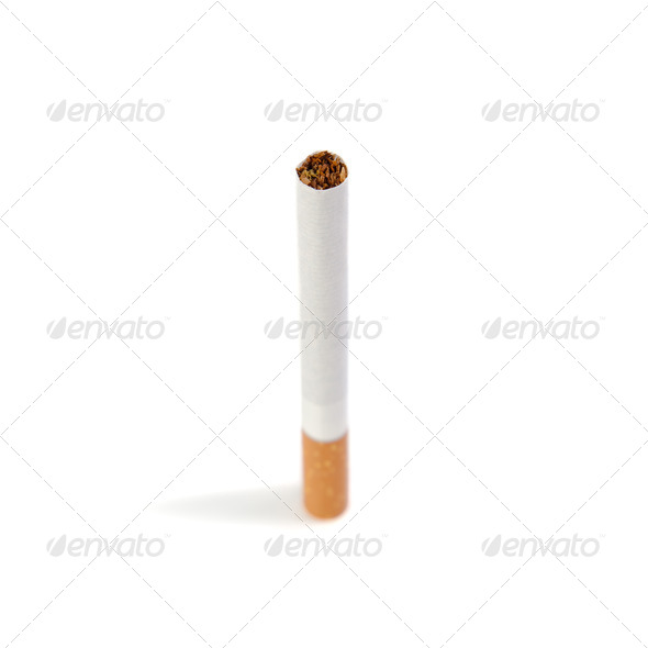 Cigarette. - Stock Photo - Images