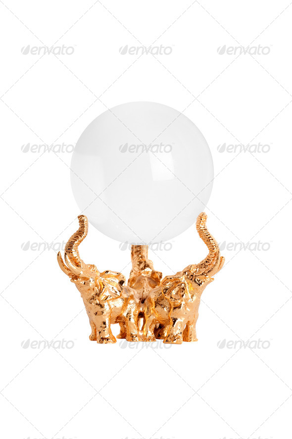 Crystal ball - Stock Photo - Images
