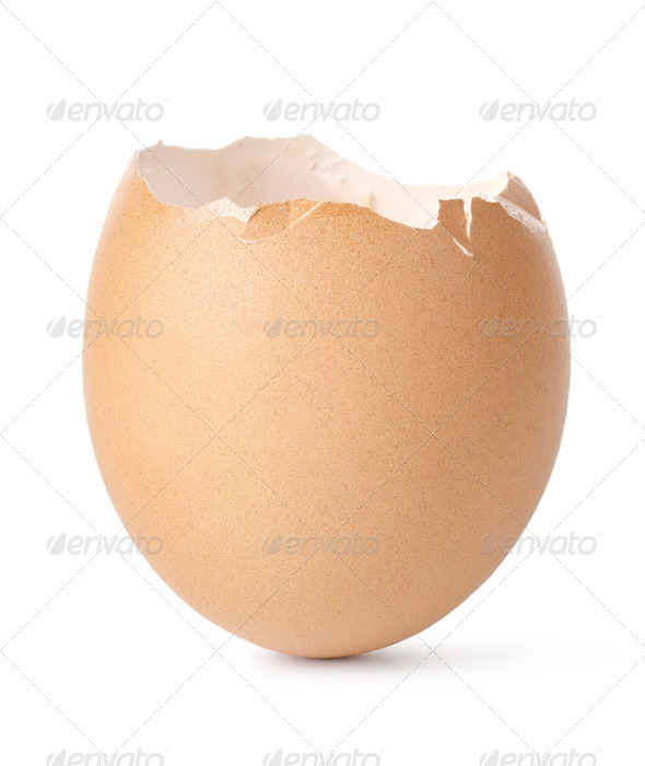 Empty egg - Stock Photo - Images
