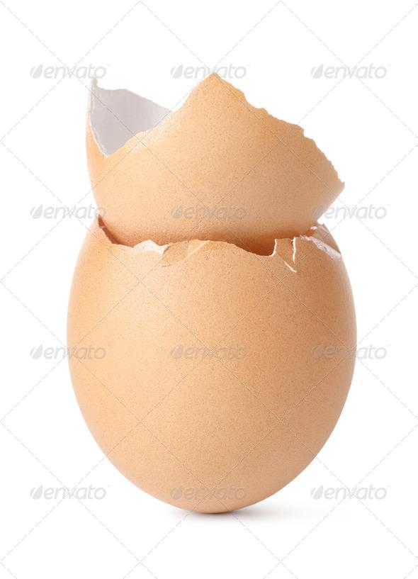 Empty eggs - Stock Photo - Images