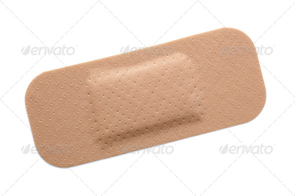 Bandaid bandage - Stock Photo - Images