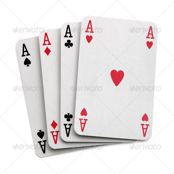 Four aces - Stock Photo - Images