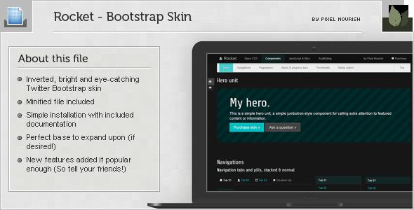 Rocket - Bootstrap Skin