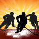 Ice Hockey Silhouettes - GraphicRiver Item for Sale