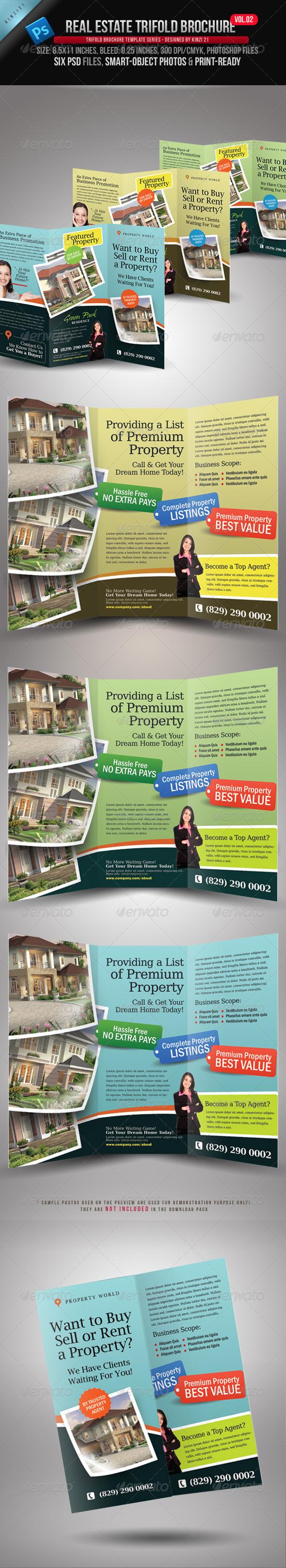 Real Estate Trifold Brochure Vol.02 - Corporate Brochures