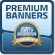 Premium Web Banners - GraphicRiver Item for Sale