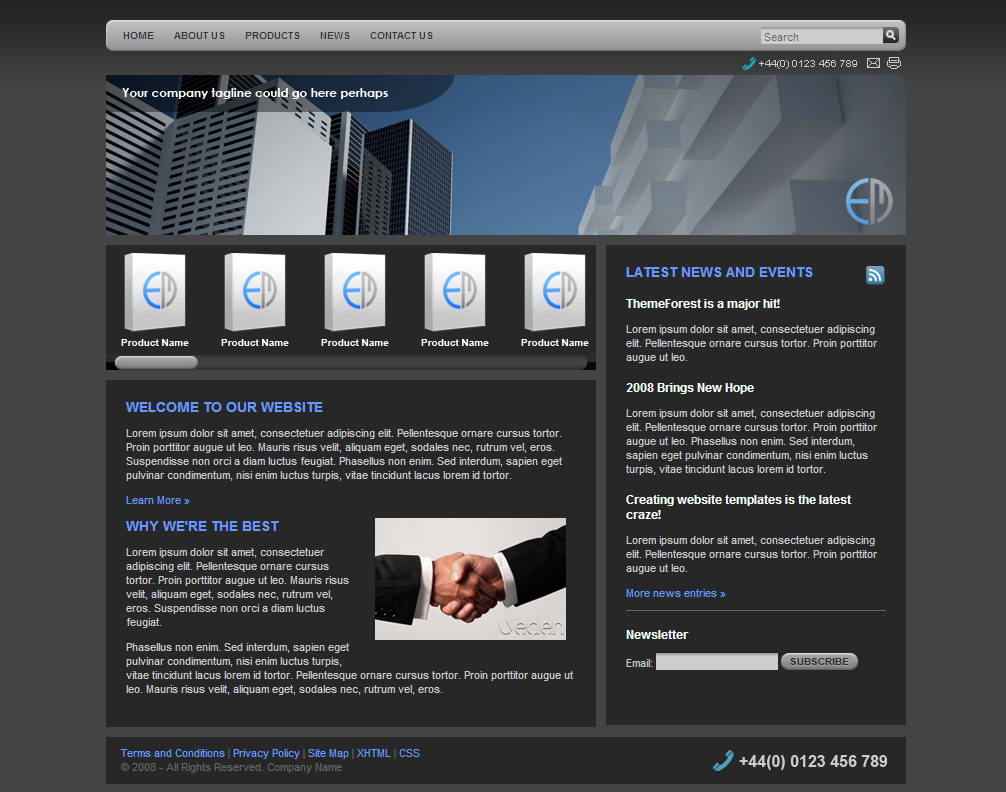 Free Download Pure Graphite Corporate Nulled Latest Version