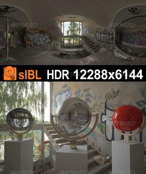HDR 074 Old Building sIBL - 3DOcean Item for Sale