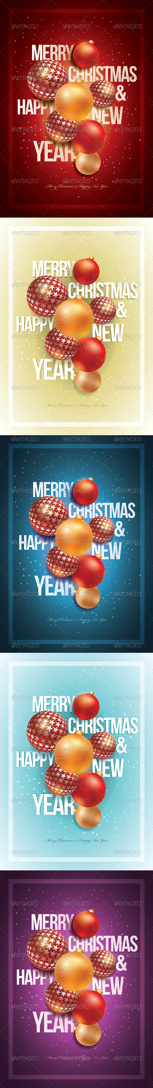 Merry Christmas & Happy New Year - Christmas Seasons/Holidays