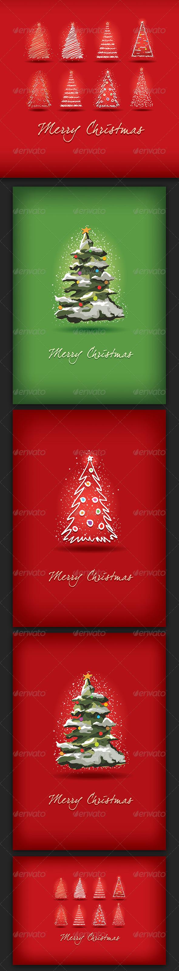 Merry Christmas Greeting Card Collection - Christmas Seasons/Holidays