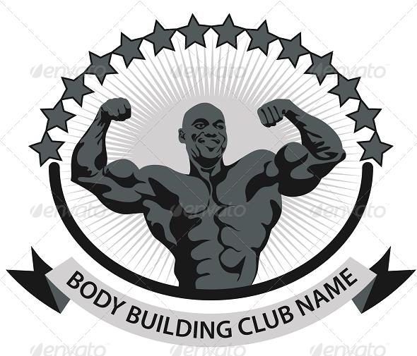 Body Building T Shirt Design Template By Djapart