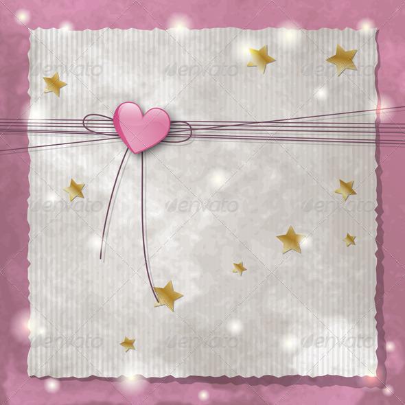 Pink Heart - Valentines Seasons/Holidays