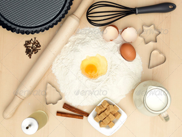 sweets preparation - Stock Photo - Images