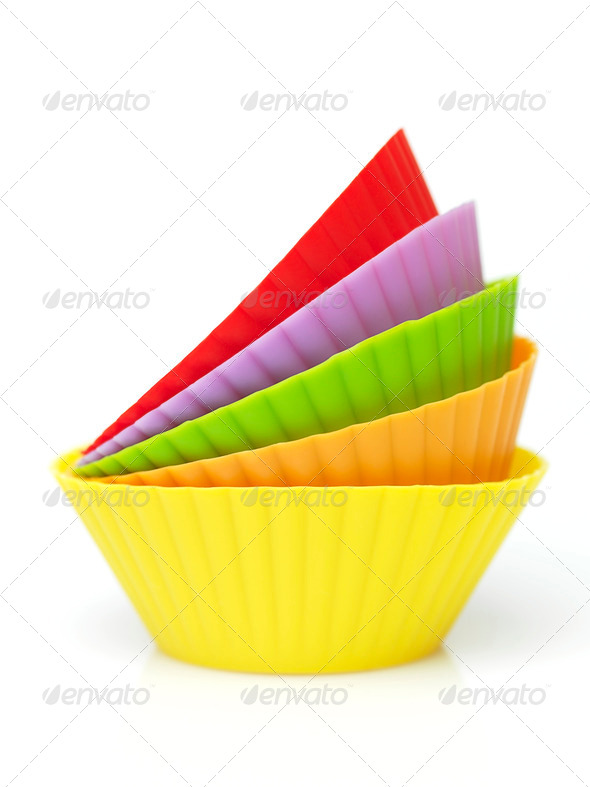 mufins cup - Stock Photo - Images