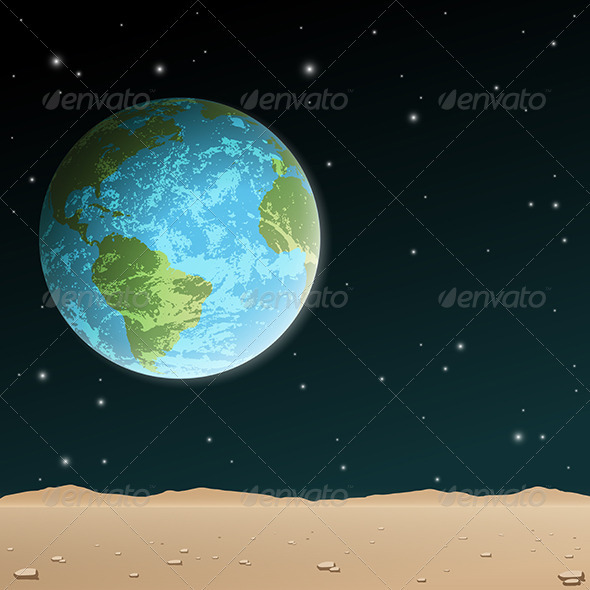 Earth Rise - Landscapes Nature