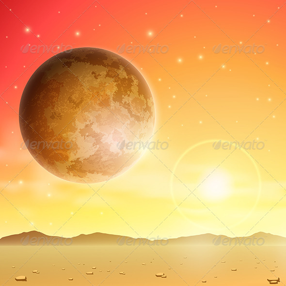 Space Background - Landscapes Nature