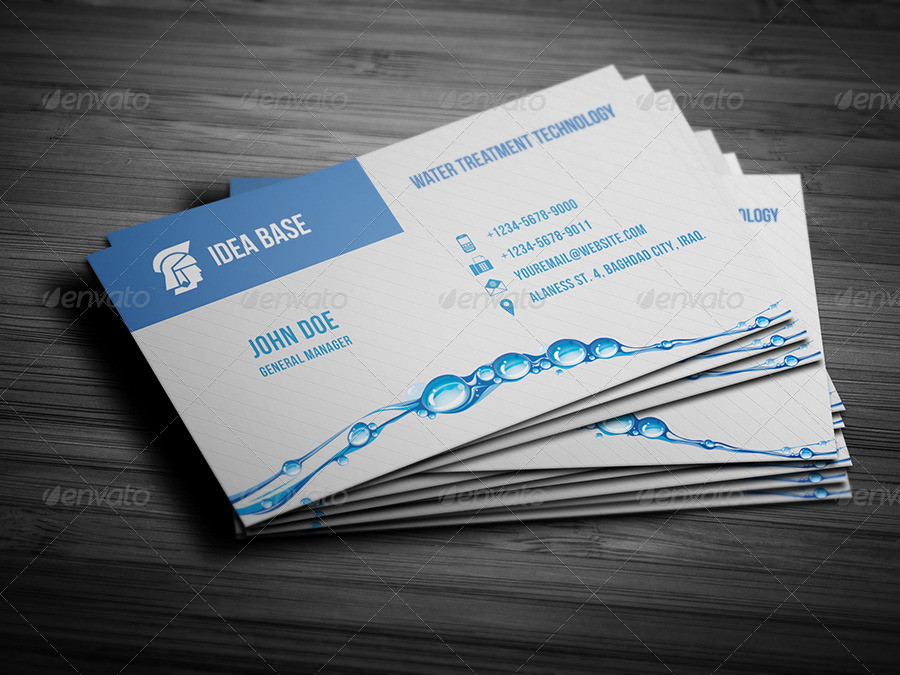 Water technology business card by owpictures graphicriver water technology business card corporate business cards 01businesscardmockupg 02businesscardmockupg 03mock upcpg colourmoves