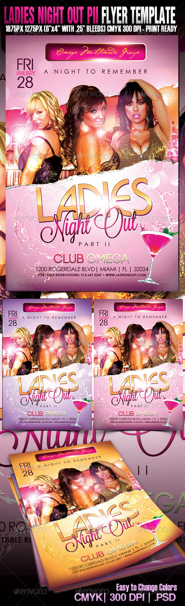 Ladies Night Out Part II - Clubs & Parties Events