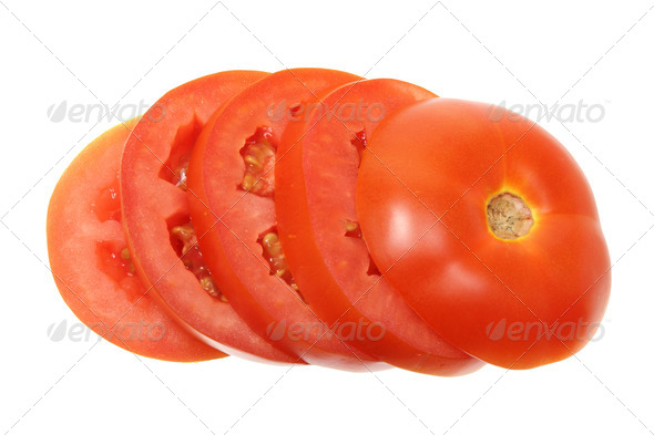 Slices of Tomato - Stock Photo - Images