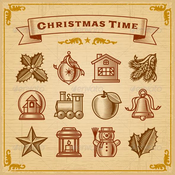 Vintage Christmas Decorations - Christmas Seasons/Holidays