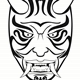 ONI Mask Illustration - GraphicRiver Item for Sale