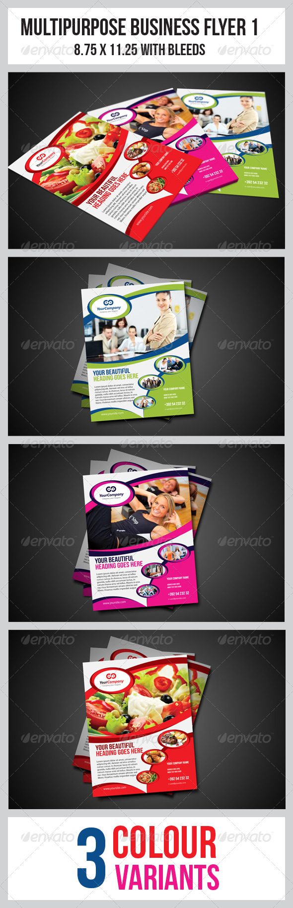 Multipurpose Business Flyer 1 - Corporate Flyers