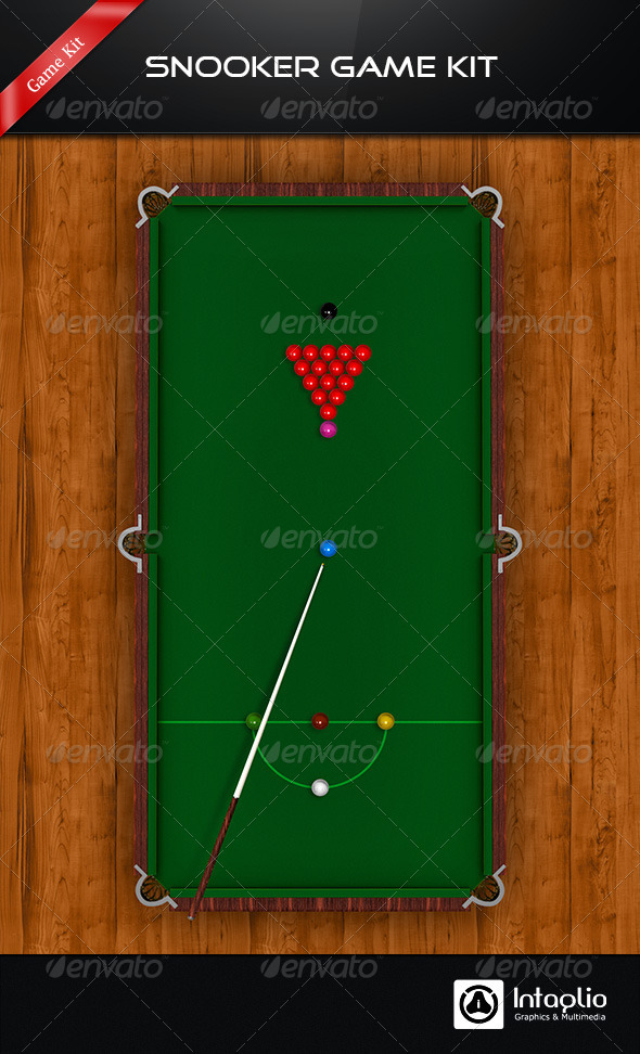 Snooker / Pool Game Kit - Game Kits Game Assets