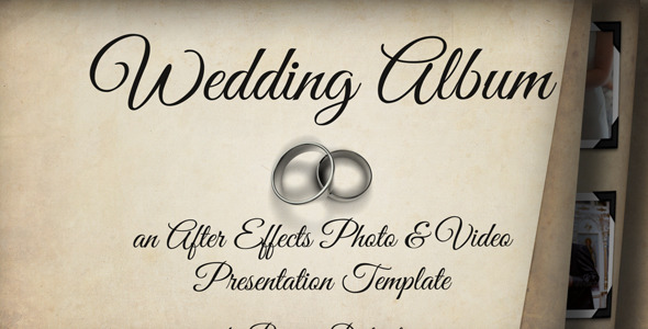 Wedding Album by PrimaryDistraction | VideoHive