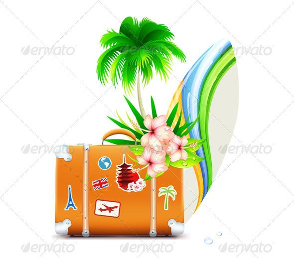 Summer Travel Concept - Travel Conceptual