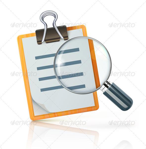 Search Concept - Decorative Symbols Decorative