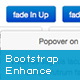 Bootstrap 2 and 3 enhance with CSS3 animation
