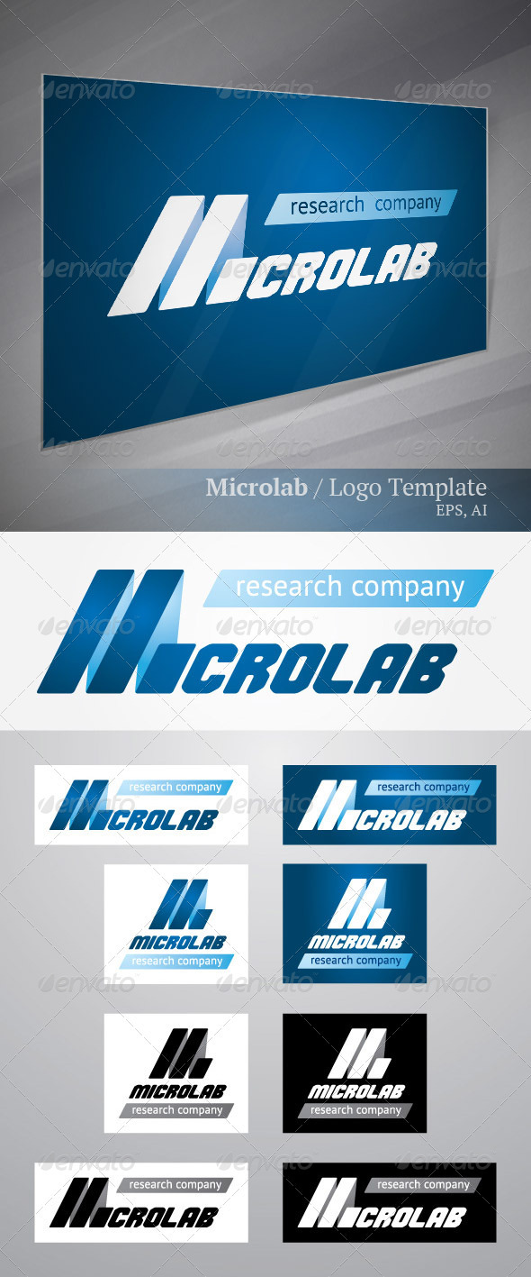Microlab - Letters Logo Templates