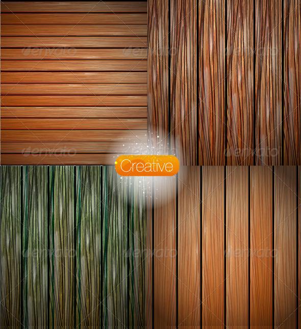 Vector Wood Texture - Nature Conceptual