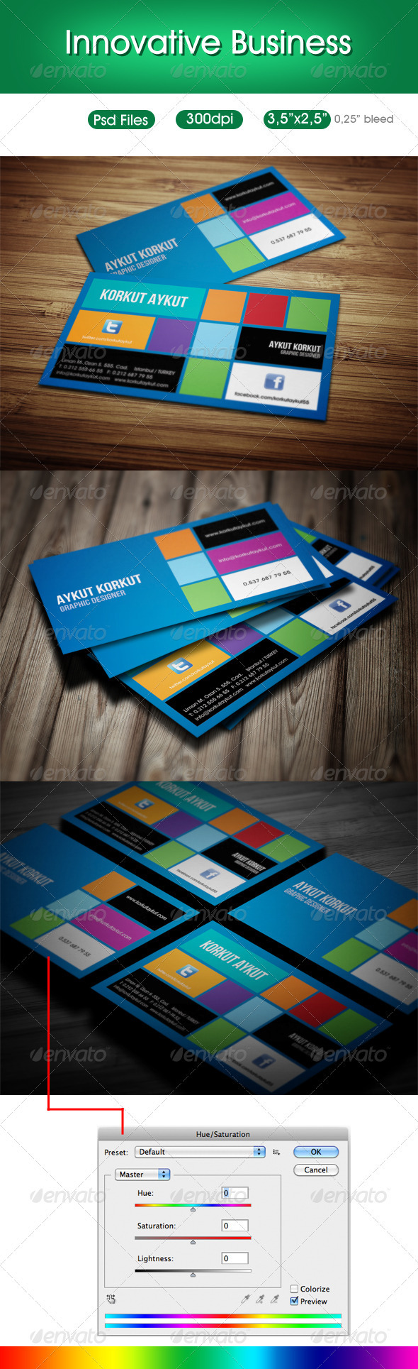 Innovative Designer Business Cards - Creative Business Cards
