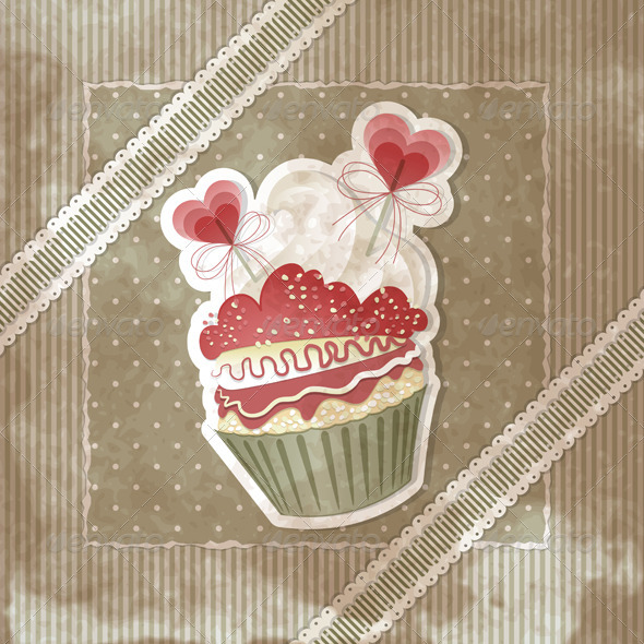 Love Cupcake - Valentines Seasons/Holidays