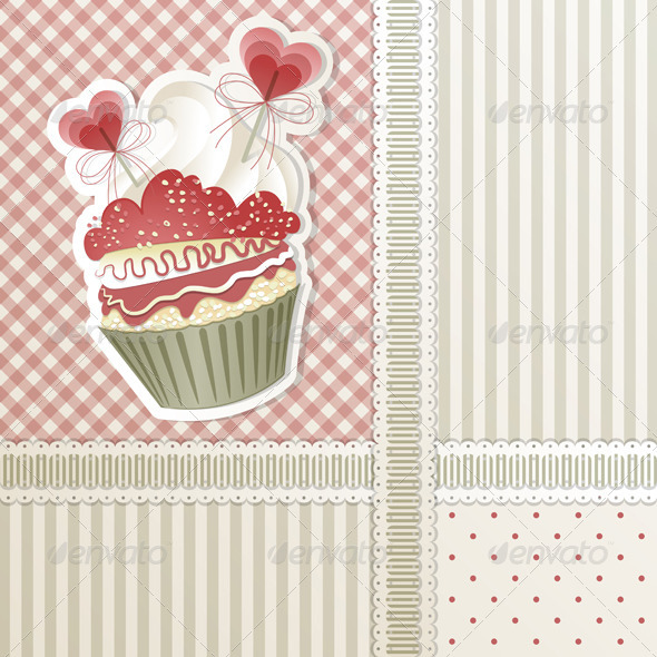 Love Cupcake - Valentines Seasons/Holidays