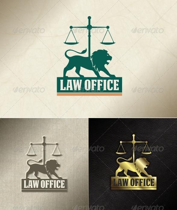 Brave Law Office - Animals Logo Templates