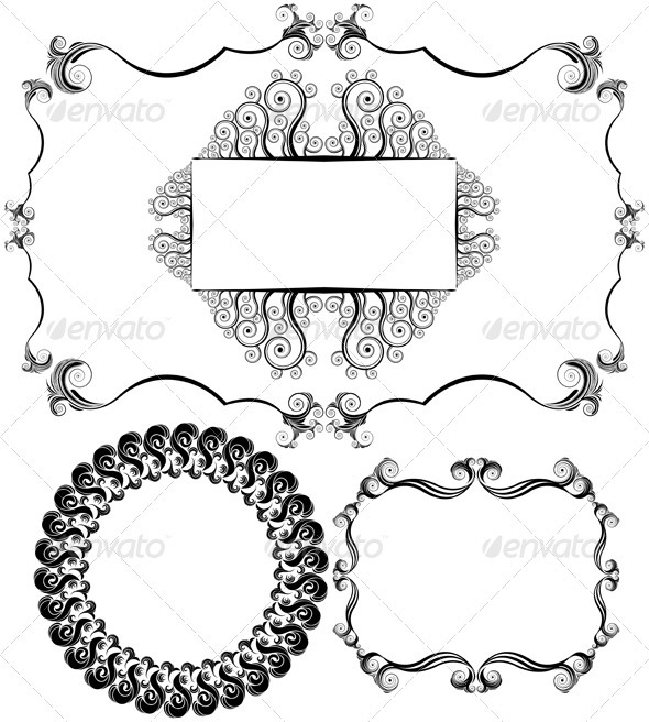 Design Elements - Borders Decorative