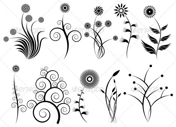 Design Elements - Decorative Symbols Decorative