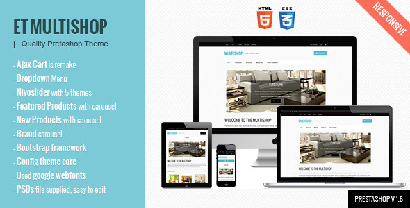 Multishop – Prestashop Theme