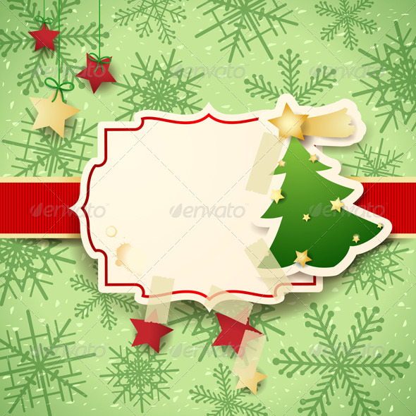 Christmas Card with Copyspace - Christmas Seasons/Holidays