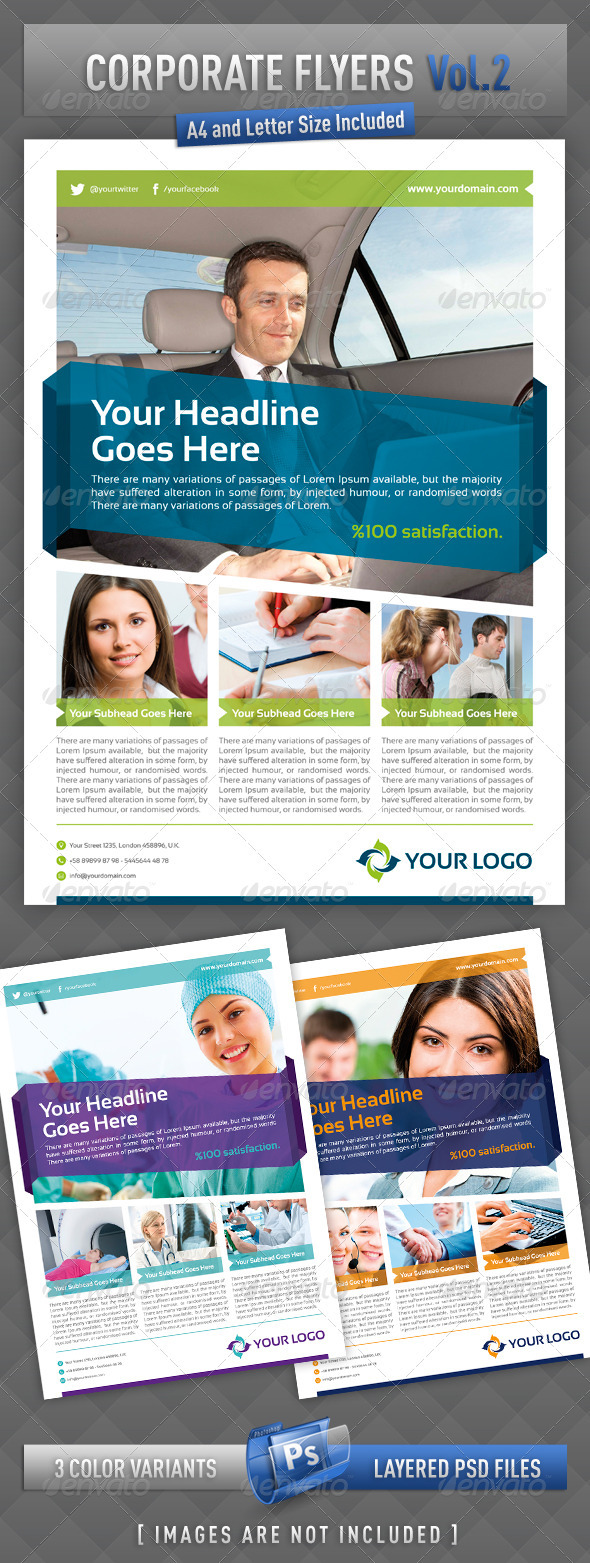 Corporate Flyers - Vol.2 - Corporate Flyers