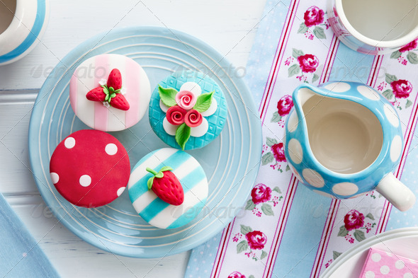 Summer tea party - Stock Photo - Images