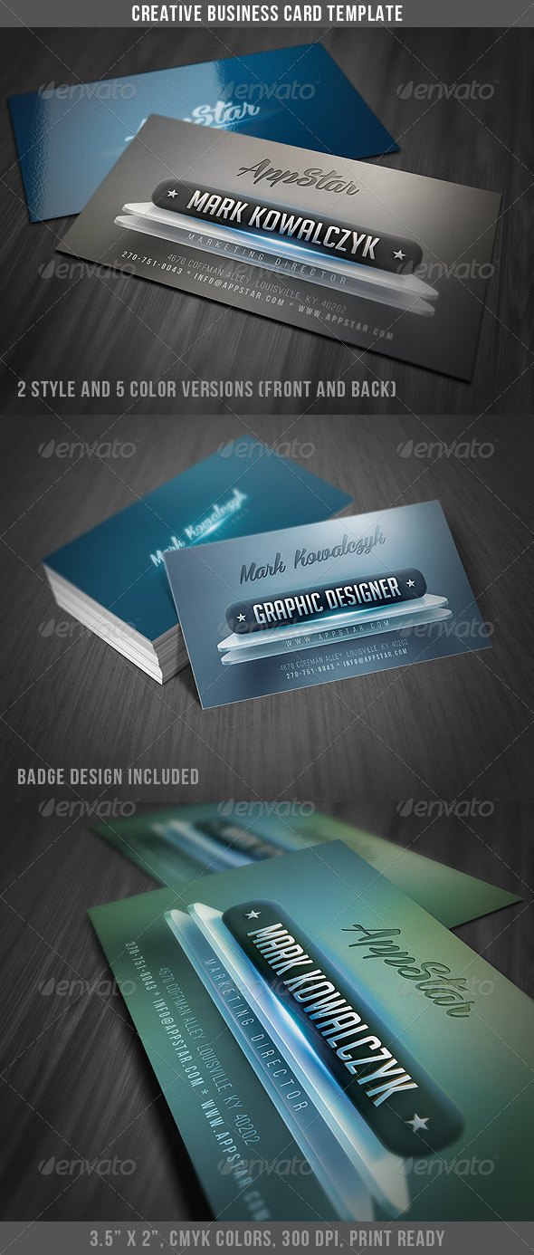 Creative & Modern Business Card by DiscoverIt | GraphicRiver