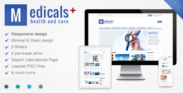 Medicals – Premium Responsive Medical Template