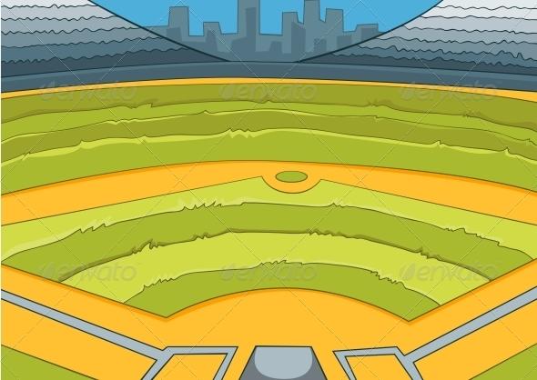 Baseball Stadium - Sports/Activity Conceptual