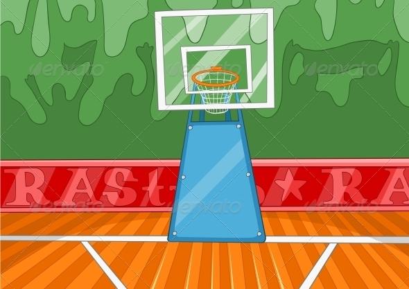 Basketball Stadium - Sports/Activity Conceptual