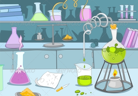 Chemical Laboratory - Health/Medicine Conceptual